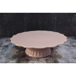 Tortatartó -színes Rózsaszín