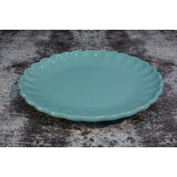 Türkiz desszert tányér szett