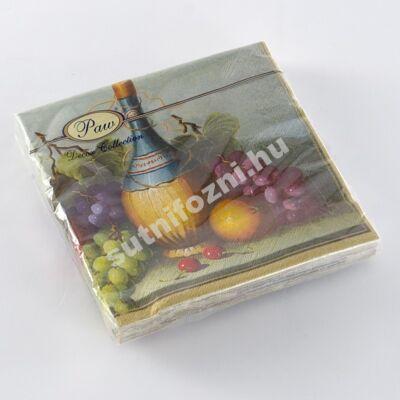 Papírszalvéta boros