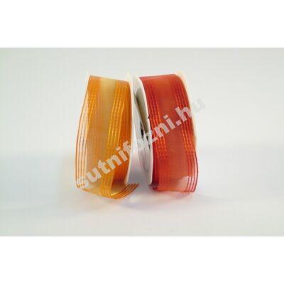 Narancs-piros szalag
