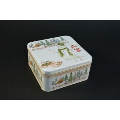 Hóemberes doboz süteményes doboz