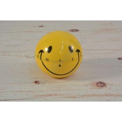 Konyhai óra Smiley