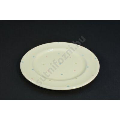Pöttyös tányér