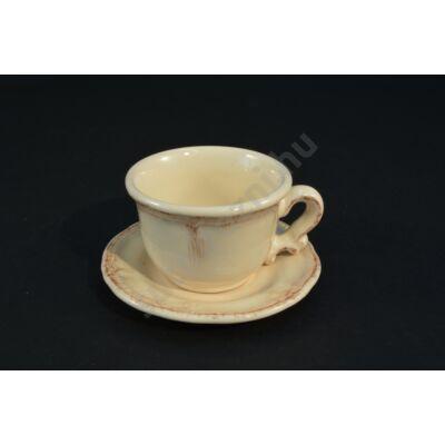 Teás kávés csésze barokk