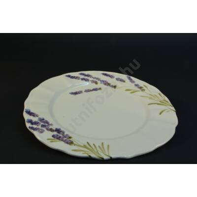 Levendulás süteményes tányér
