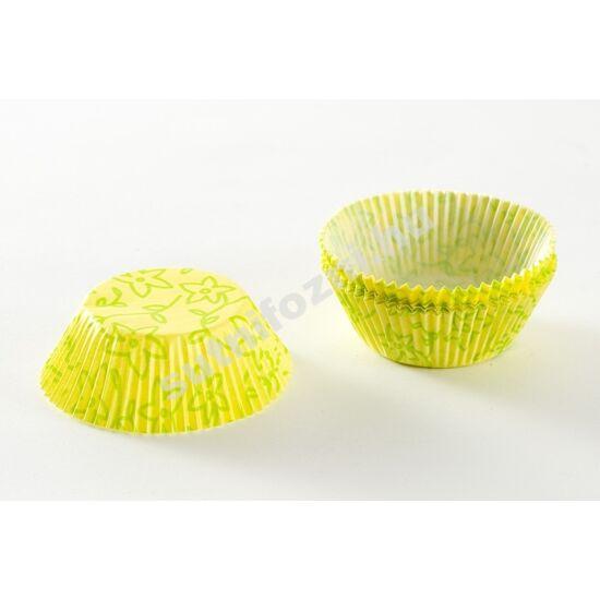 Színes muffinpapír