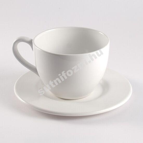 Óriás csésze alátéttel