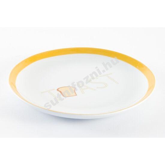 Reggeliző tányér