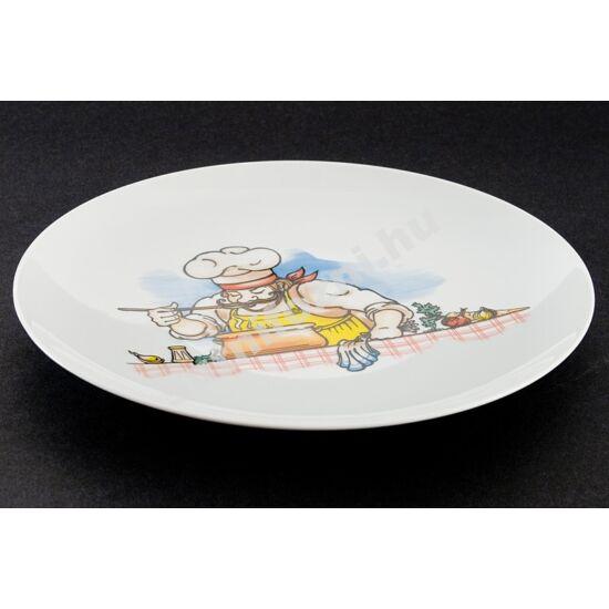 Szakácsos tányér