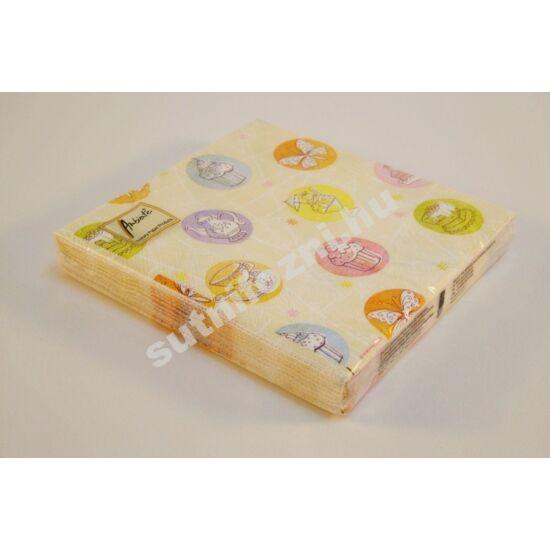 Papírszalvéta desszertek
