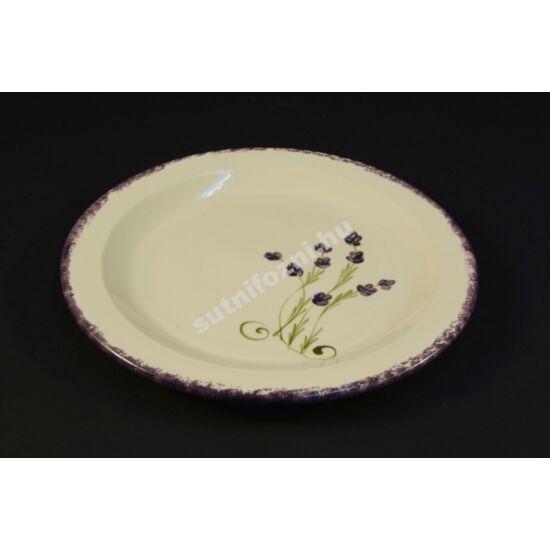 Levendula mintás tányér szett