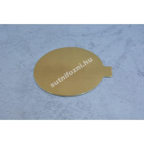 Tortatálca arany 10 cm