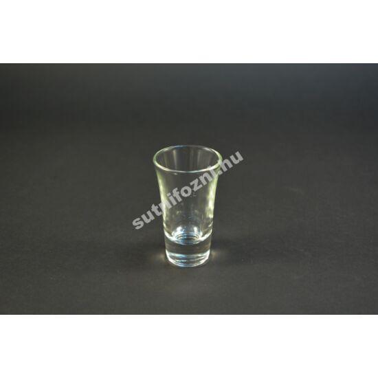 Röviditalos pohár jelölt