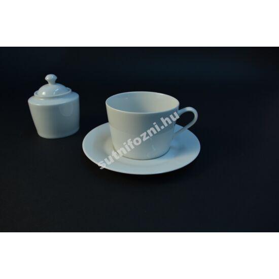 Teáscsésze készlet cukortartóval