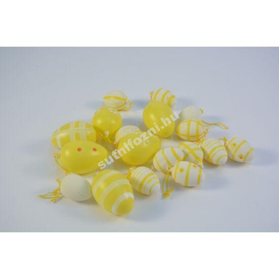 Sárga tojások