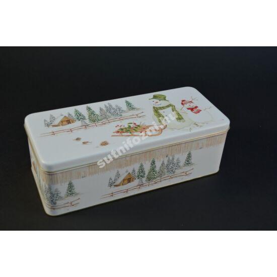 Hóemberes  süteményes doboz