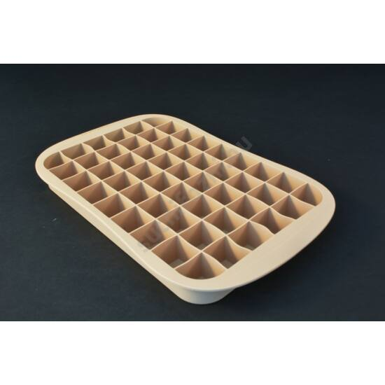 Szilikonos  mini zsemle sütőforma