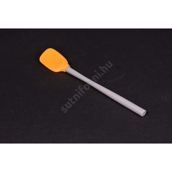 szilikon spatula kicsi keverőfejjel