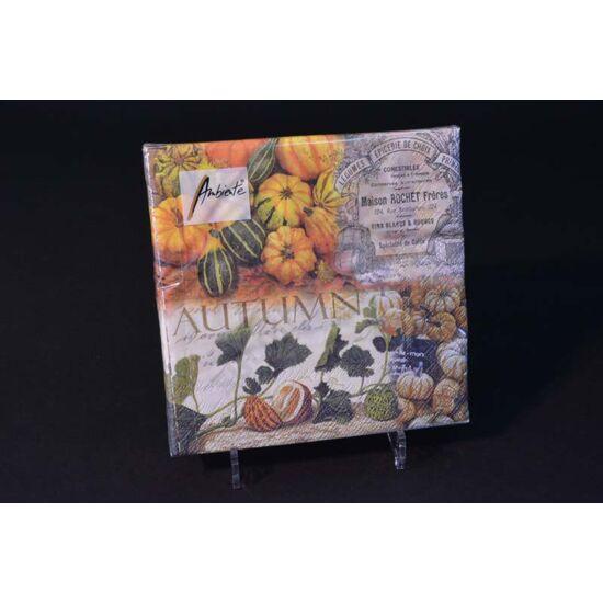 őszi disztökös papírszalvéta