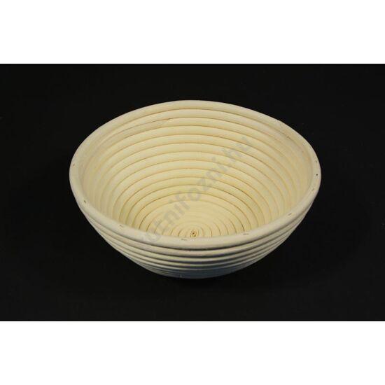 kenyér kelesztő kosár gömbölyű 0,5-0,75 kg kenyér kelesztésére