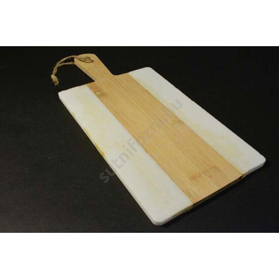 bambusz márvány tálalódeszka