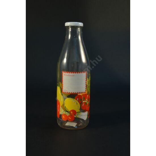 Málnás üveg